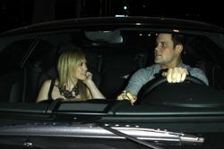 Hilary Duff shows cleavage leaving BOA restaurant - Hot Celebs Home