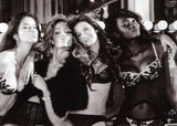 Tyra Banks, Ana Beatriz Barros, Gisele Bundchen, Heidi Klum, Adriana Lima and Oluchi Onweagba posing in backstage in skimpy lingerie showing off theri bodies. A lot of oops and bare skin - Hot Celebs Home