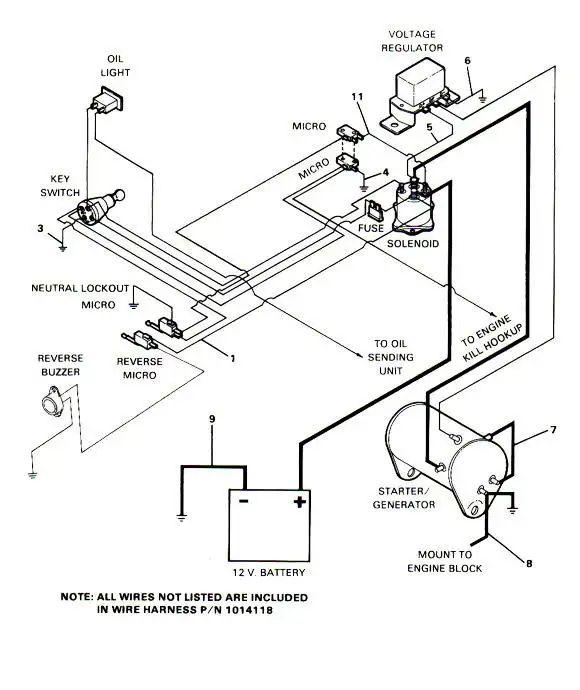 Club Car Micro Switch Diagram
