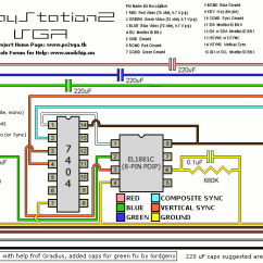 Hdmi Wiring Diagram How To Design Architecture Recommendation For A Ps2 Vga Box — Shoryuken