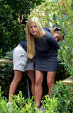 Sophie Monk - On the Set of 'Bigger than Paris' Pictures