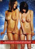 Sophie Howard and Rosie Jones topless and naked in Jingle Belles issue of Loaded magazine - Hot Celebs Home
