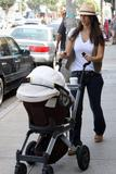 Jessica Alba candids At Hollywood Pictures
