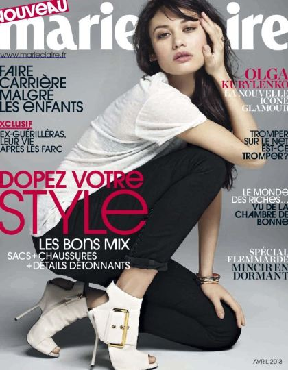 Marie Claire N°728 Avril 2013