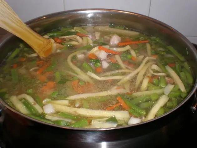 Pucherillo de verdura