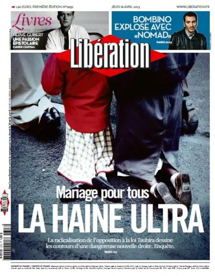 Libération Jeudi 18 Avril 2013