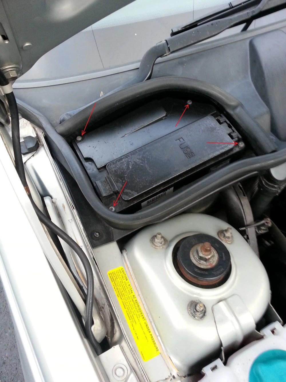 medium resolution of volvo 850 fuse box removal wiring libraryvolvo 850 fuse box removal