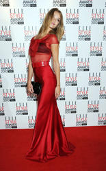 Rosie Huntington-Whiteley - ELLE Style Awards 2010 in London - Hot Celebs Home