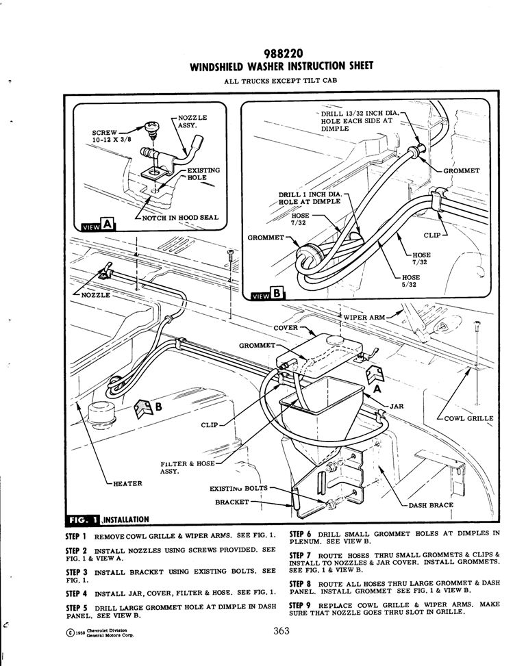 66 Chevelle Steering Column Wiring Diagram, 66, Free