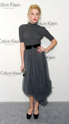 Amber Heard at Women's Fall 2010 Calvin Klein Collection After Party - Hot Celebs Home