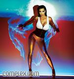 Kim Kardashian shows her body with great cleavage shoots in Complex Magazine - Hot Celebs Home