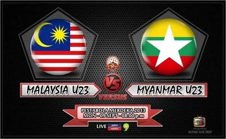 malaysia u23 vs myanmar u23 pestabola merdeka 2013, keputusan terkini malaysia u23 vs myanmar u23 pestabola merdeka 2013, video goal highlights malaysia u23 vs myanmar u23 , ulasan perlawanan malaysia u23 vs myanmar u23