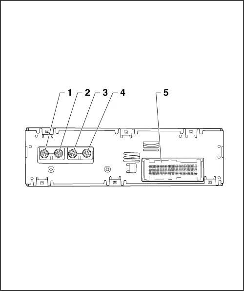 [ALL B5 B6 B7] Schematy układów elektrycznych, złącza