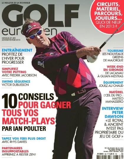 Golf Européen N°483 Janvier Février 2013