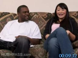 sAbominableBlackMan.com SiteRip - Lena Lang - Asian FuckToy Showing Her Sucking And Fucking Skills In Interracial Porn Scene. FreePornSiteRips.com