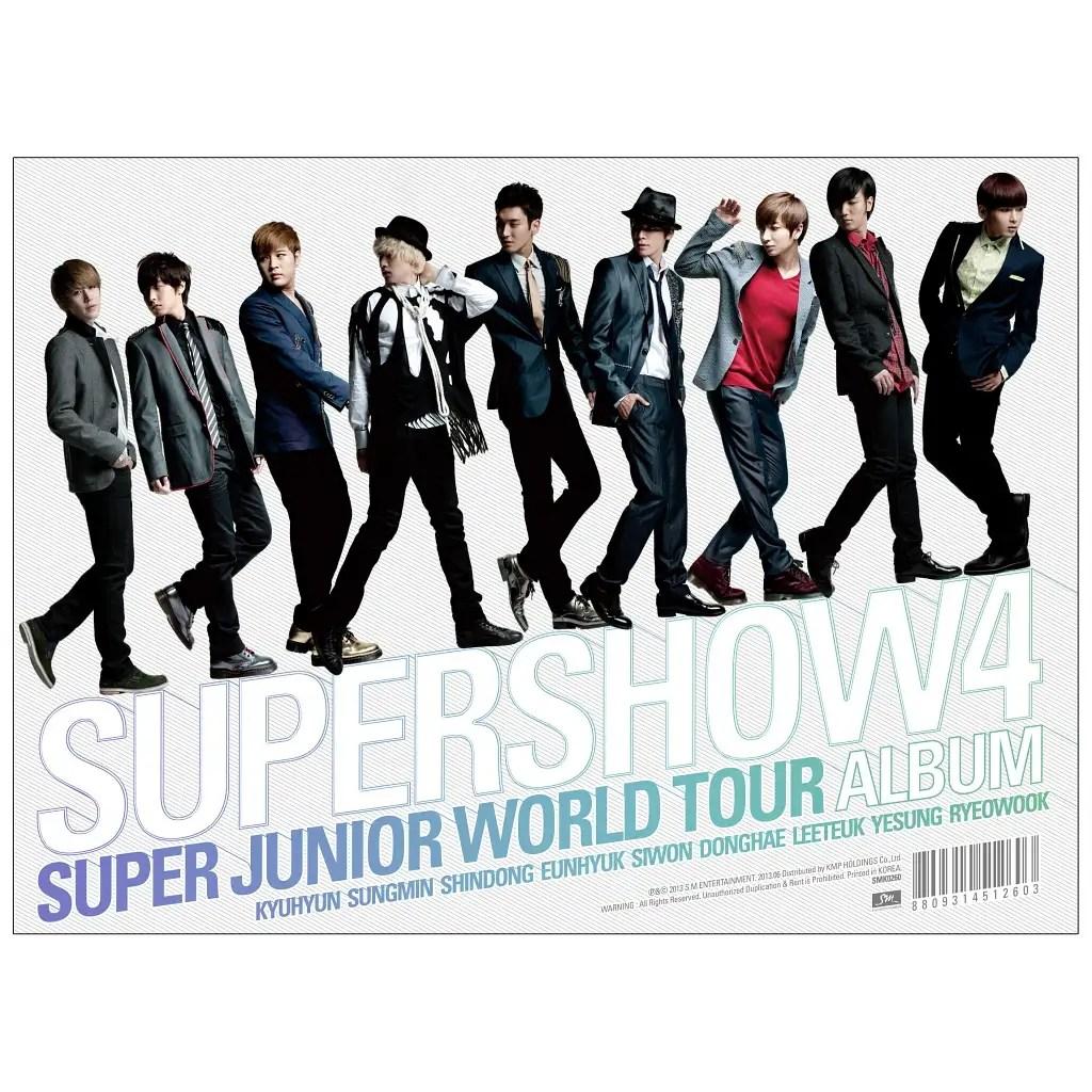 [Album] Super Junior - Super Junior World Tour 'Super Show 4' [3CD]