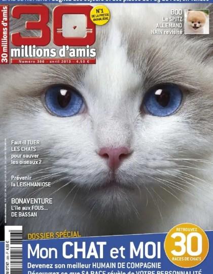30 Millions d'Amis N°306 Avril 2013