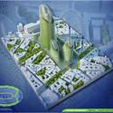 Vista aérea Torres Fotosíntesis. Imágen cortesía de Vincent Callebaut Architecture