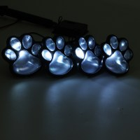 Other Outdoor Lighting - Solar Powered Pure White 4 Dog ...