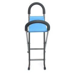 Walking Stick Seat Stool Chair Kidkraft Doll High And Crib Tables Ipree Multi Function Folding Pyramid