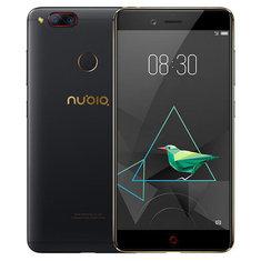 ZTE Nubia Z17 mini caméra double arrière 5.2 pouces 6 Go 64 Go Snapdragon 653 Octa core 4G Téléphone intelligent