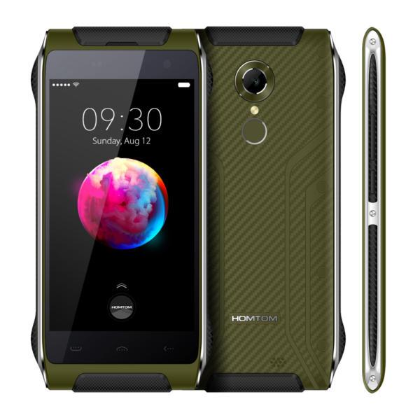 banggood HOMTOM HT20 Pro MTK6753 1.3GHz 8コア GREEN(グリーン)