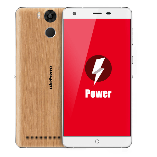 banggood Ulefone Power MTK6753 1.3GHz 8コア WOODEN(ウッド)