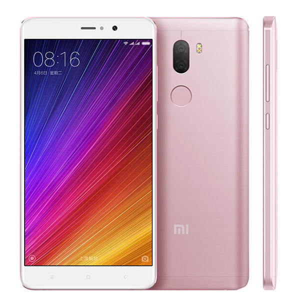 banggood Xiaomi Mi5S Plus Snapdragon 821 MSM8996 Pro 2.35GHz 4コア ROSE GOLD(ローズゴールド)