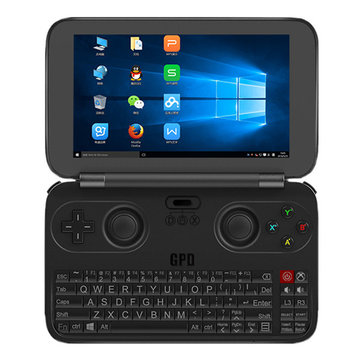 banggood GPD WIN Atom Cherry Trail x7-Z8700 1.6GHz 4コア,Atom Cherry Trail x7-Z8750 1.6GHz 4コア BLACK(ブラック)