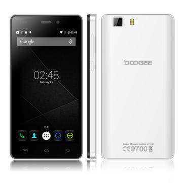 DOOGEE X5 5-inch Android 5.1 MTK6580 Quad-core Smartphone