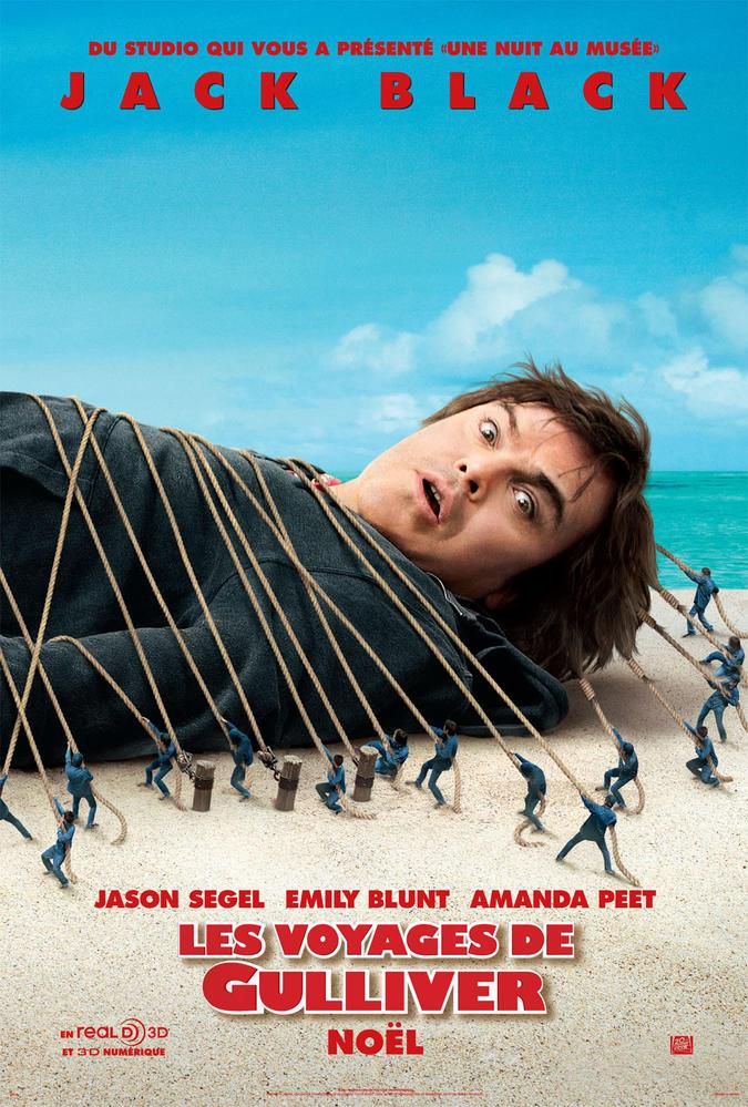 Le Voyage De Gulliver Film : voyage, gulliver, VOYAGES, GULLIVER, (2010), Cinoche.com