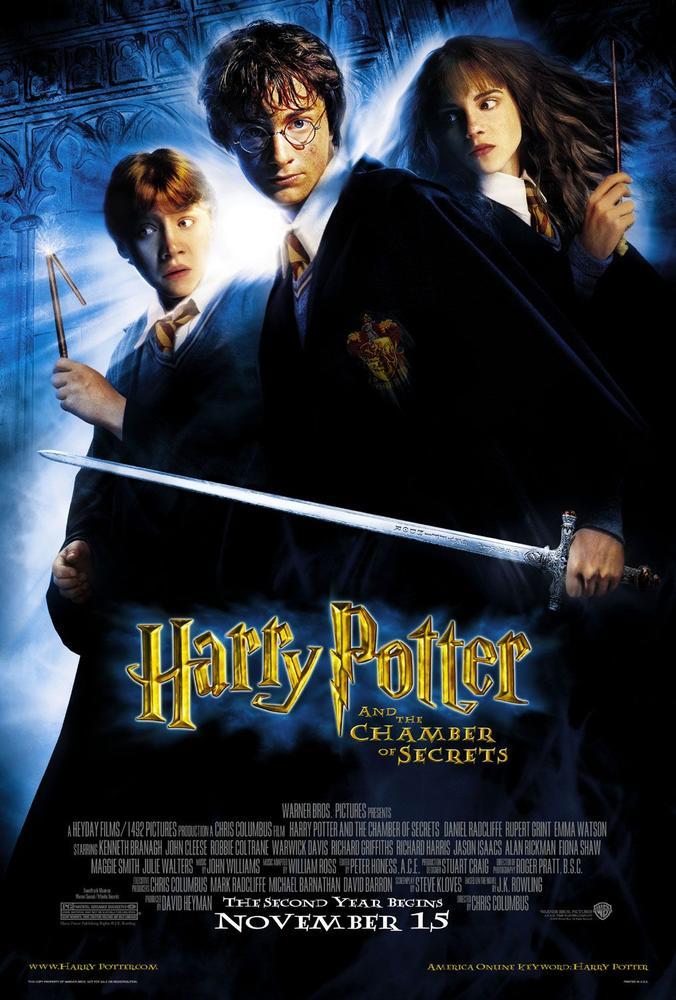 Harry Potter 2 Film Complet En Francais : harry, potter, complet, francais, HARRY, POTTER, CHAMBRE, SECRETS, (2002), Cinoche.com