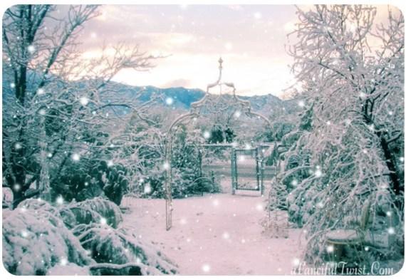 Winter Wonderland Snow - 5 card set - AFancifulTwist