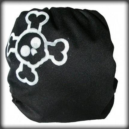 Punk Rock All In Two (AI2) Cloth Diaper