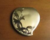 Vintage Elgin American Mirror Powder Compact