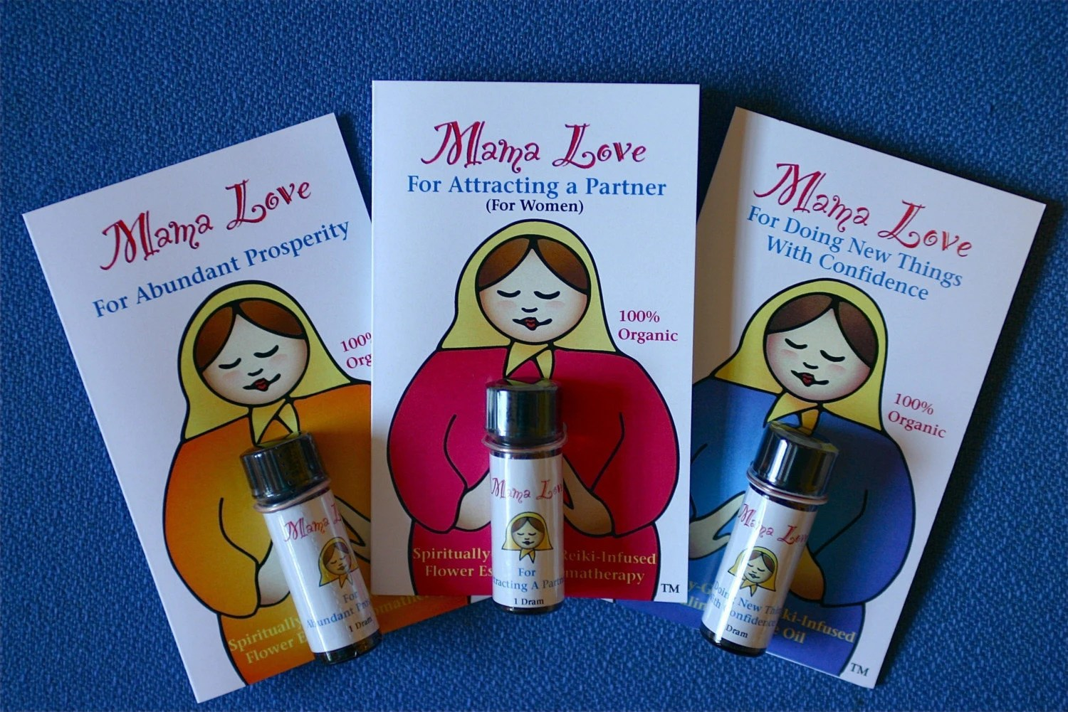 Mama Love Flower Essence Aromatherapy