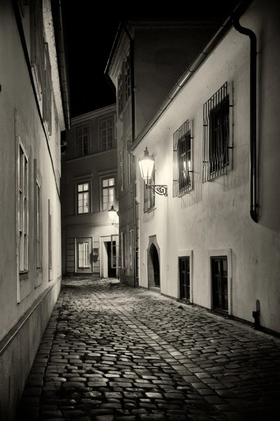 Streets of Prague, Etsy Print, Prague, Learning to Wander