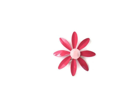 Vintage Pink Daisy Brooch - FourthCoastVintage