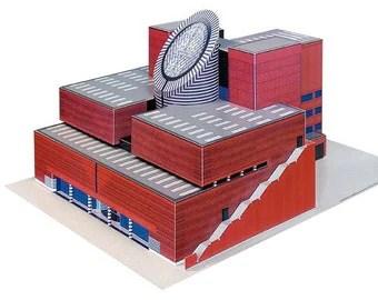 SFMOMA Building Paper Model (KIT)