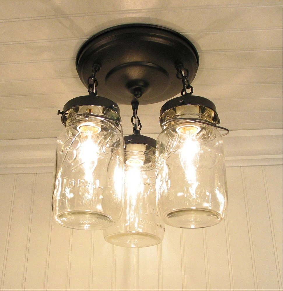 Vintage Mason Jar Lighting