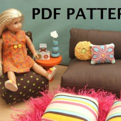 18 Doll Sofa Diy Cloth Texture In India Patterns For American Girl Furniture Pdf Woodworking