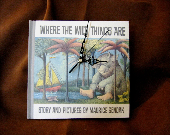 Where The Wild Things Are - Maurice Sendak - Shelf Clock - StorytimeClocksTM