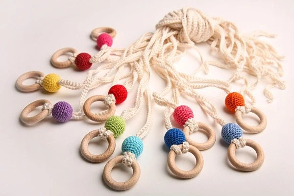 Nordic Tutti Teething / Nursing /Babywearing necklace