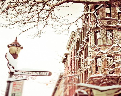Hoboken Corner - 8x8 Original Fine Art Photograph - urbanantique