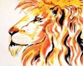 Old  Lion (Quick Brush) - GetTAMArt
