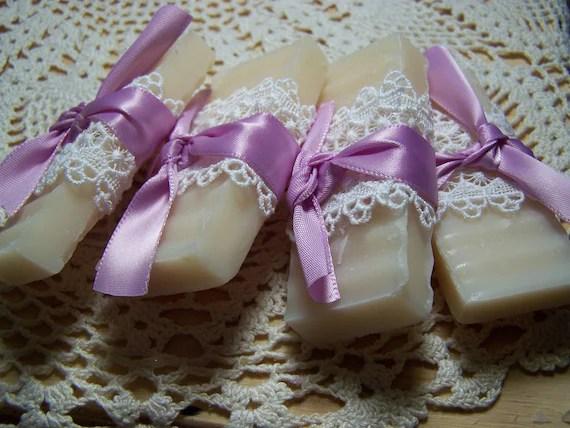 50 Wedding favors soaps - mini soaps - Lavender -  Shea butter, organic,  handmade soap -