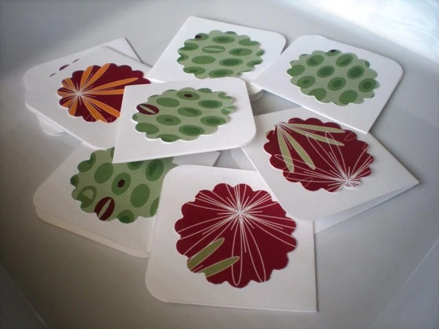 Mini Note Card-Set of 8 with Envelopes