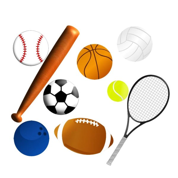 3 clipart sports