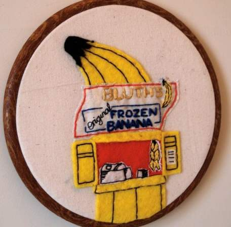Banana Stand by lucylocketstitches