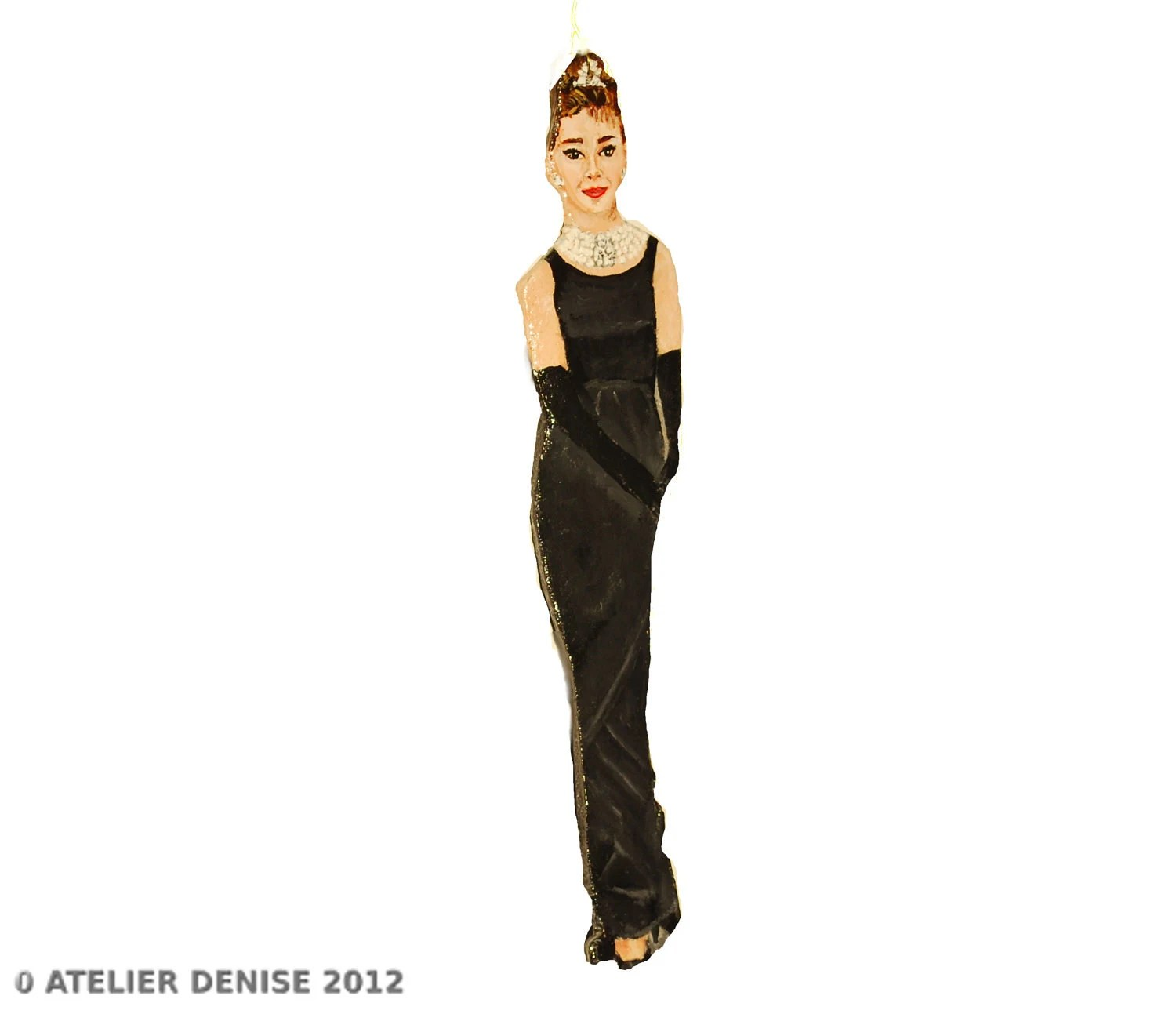 Audrey Hepburn Decorative Home Ornament - AtelierDenise